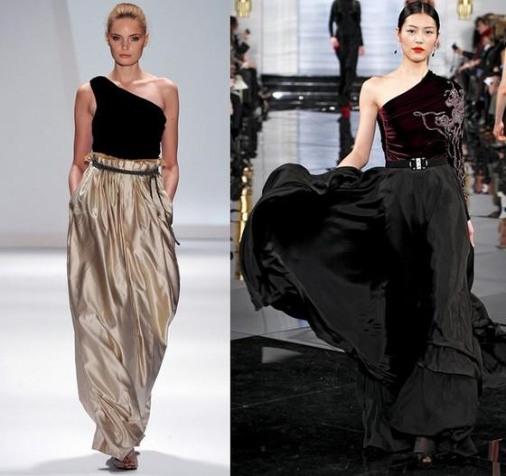 модели платьев от арабских модельеров